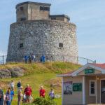 Carleton Martello Tower in Saint John New Brunsw