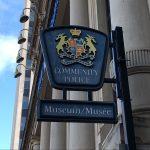 Saint John Police Museum Sign