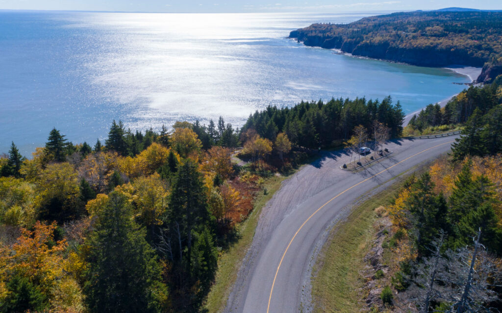 Fundy Trail Parkway in New Brunswick